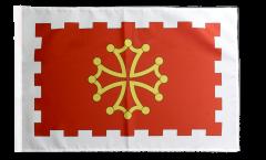 Flagge Frankreich Aude - 30 x 45 cm