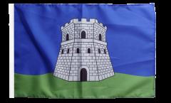 Flagge Frankreich Bastia - 30 x 45 cm
