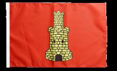 Flagge mit Hohlsaum Frankreich Caen