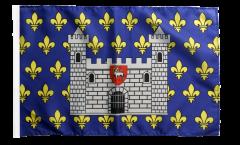 Flagge Frankreich Carcassonne - 30 x 45 cm