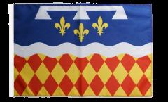 Flagge Frankreich Charente - 30 x 45 cm