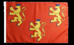 Flagge Frankreich Dordogne - 30 x 45 cm