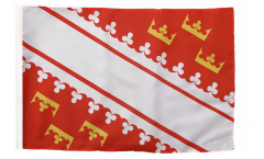 Flagge mit Hohlsaum Frankreich Elsass neu