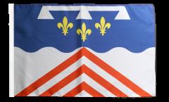 Flagge Frankreich Eure-et-Loir - 30 x 45 cm