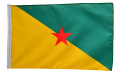 Flagge Frankreich Französisch Guayana - 30 x 45 cm