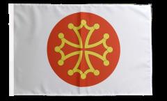 Flagge Frankreich Hérault - 30 x 45 cm