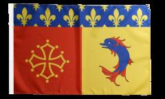 Flagge Frankreich Hautes-Alpes - 30 x 45 cm