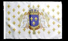 Flagge mit Hohlsaum Frankreich Königreich 987 - 1791
