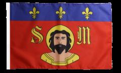 Flagge mit Hohlsaum Frankreich Limoges