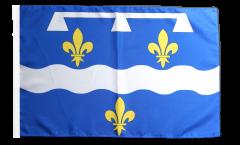 Flagge Frankreich Loiret - 30 x 45 cm