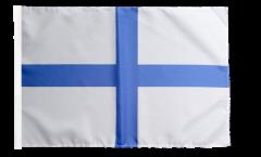 Flagge Frankreich Marseille - 30 x 45 cm