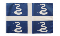 Flagge mit Hohlsaum Frankreich Martinique