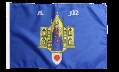 Flagge Frankreich Montpellier - 30 x 45 cm