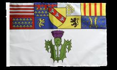 Flagge mit Hohlsaum Frankreich Nancy