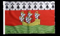 Flagge Frankreich Nantes - 30 x 45 cm