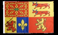 Flagge Frankreich Pyrénées-Atlantiques - 30 x 45 cm