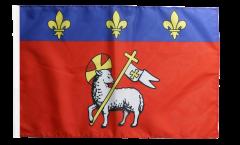 Flagge Frankreich Rouen - 30 x 45 cm