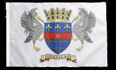 Flagge Frankreich Saint-Barthélemy - 30 x 45 cm