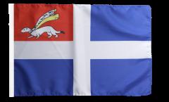 Flagge Frankreich Saint-Malo - 30 x 45 cm