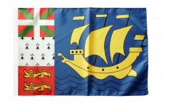 Flagge Frankreich Saint-Pierre und Miquelon - 30 x 45 cm
