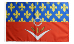 Flagge Frankreich Seine-Saint-Denis - 30 x 45 cm