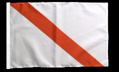 Flagge mit Hohlsaum Frankreich Straßburg