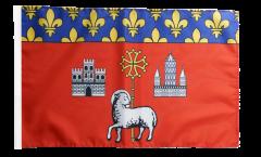 Flagge Frankreich Toulouse - 30 x 45 cm
