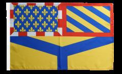 Flagge Frankreich Yonne - 30 x 45 cm