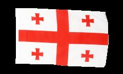 Flagge mit Hohlsaum Georgien