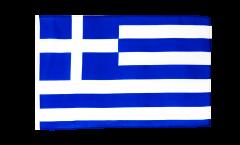 Flagge mit Hohlsaum Griechenland