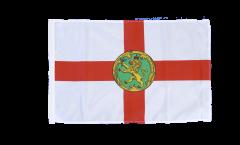 Flagge mit Hohlsaum Großbritannien Alderney