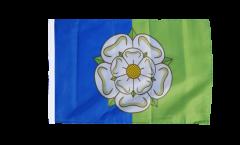Flagge mit Hohlsaum Großbritannien Yorkshire East Riding