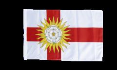Flagge mit Hohlsaum Großbritannien Yorkshire West Riding
