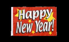 Flagge Happy New Year - 30 x 45 cm