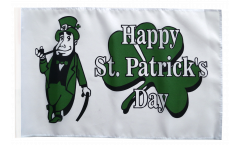 Flagge Happy St. Patrick's Day - 30 x 45 cm