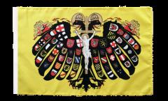 Flagge mit Hohlsaum Heiliges Römisches Reich Deutscher Nation Quaterionenadler