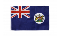 Flagge mit Hohlsaum Hongkong alt
