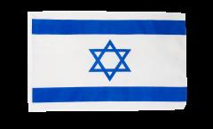 Flagge mit Hohlsaum Israel