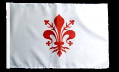 Flagge Italien Florenz - 30 x 45 cm