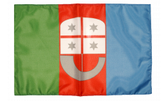 Flagge mit Hohlsaum Italien Ligurien