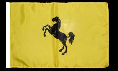 Flagge mit Hohlsaum Italien Provinz Neapel