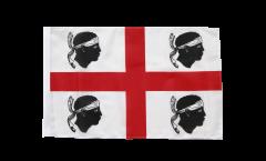 Flagge mit Hohlsaum Italien Sardinien