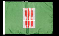 Flagge mit Hohlsaum Italien Umbrien