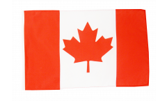 Flagge mit Hohlsaum Kanada