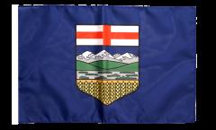 Flagge mit Hohlsaum Kanada Alberta