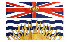 Flagge mit Hohlsaum Kanada Britisch Kolumbien