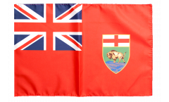 Flagge mit Hohlsaum Kanada Manitoba
