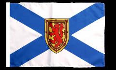 Flagge mit Hohlsaum Kanada Neuschottland