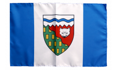 Flagge mit Hohlsaum Kanada Nordwestterritorium