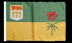Flagge mit Hohlsaum Kanada Saskatchewan